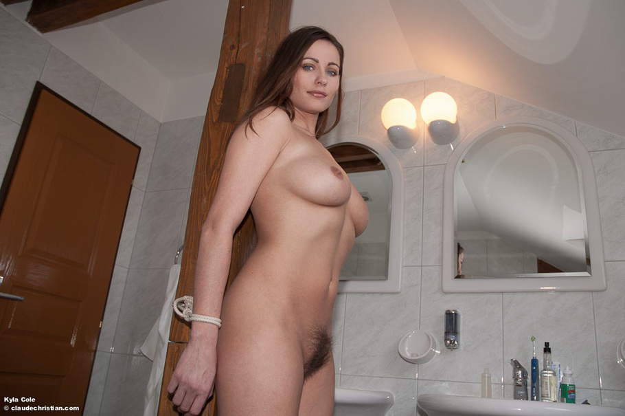 tied in bathroom xxx