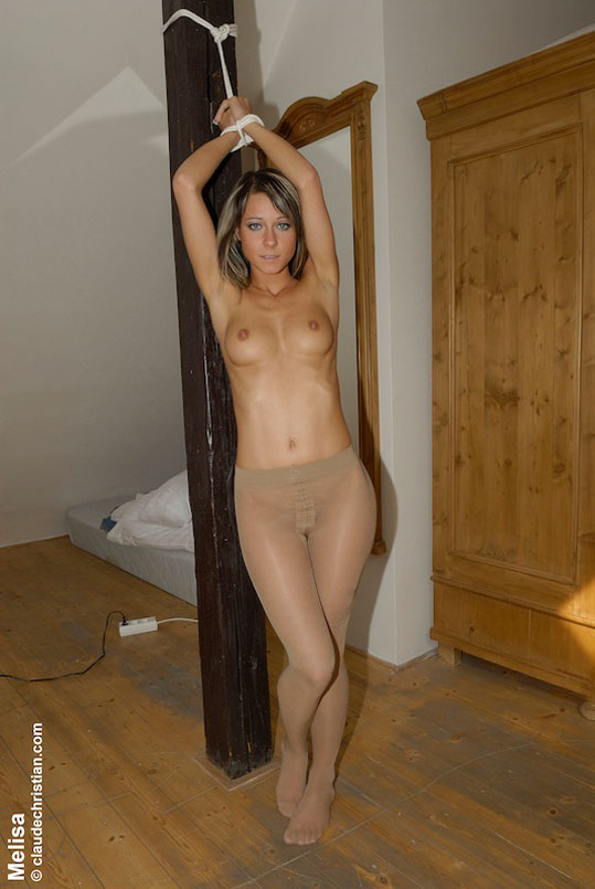 Mature Blondes Pantyhose Is Cut Open, And A Vibrator Is ...