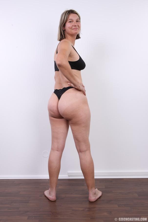 Hot MILF takes off her black shirt, gray pa - XXX Dessert ...