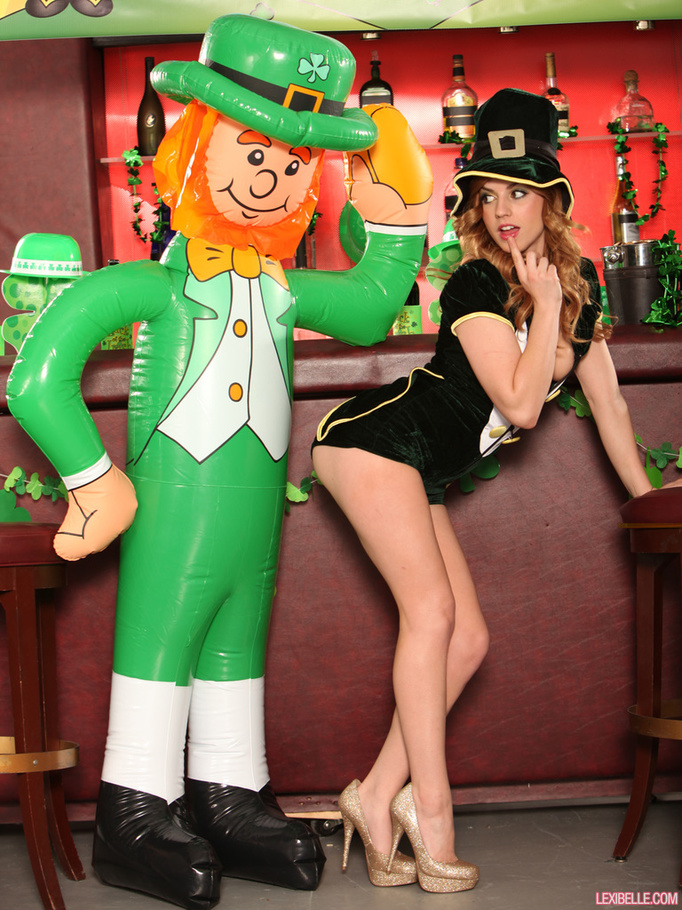 Opinion Sexy leprechaun chick pics will