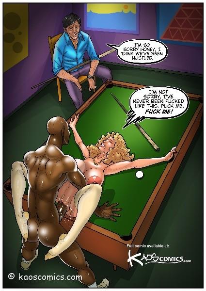 free interracial porn comics