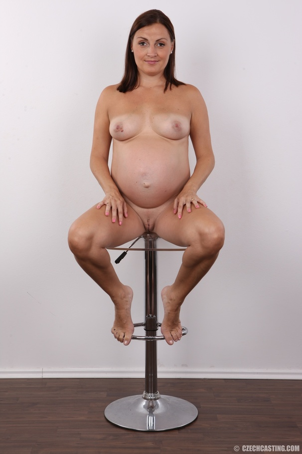 Czech casting pregnant