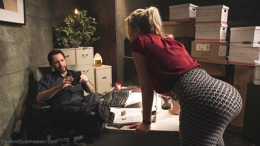 Rough Secretary Sex