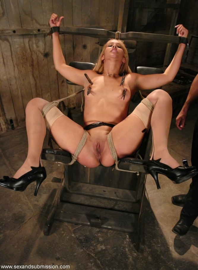 Rough bondage sex slave first time mia 5