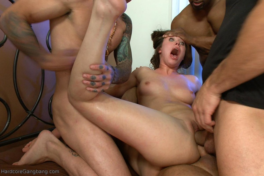 sexual striptease gangbang