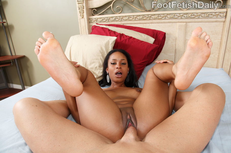 black girl feet fuck
