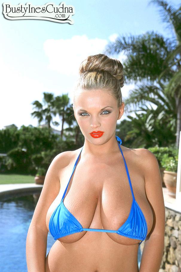 Ines cudna huge tits and nipples 6