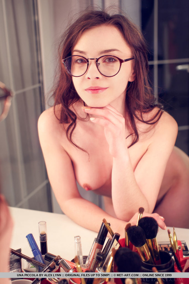 Babes wearing glasses nude share your