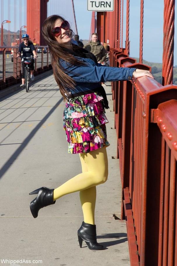 freaky brunette teen
