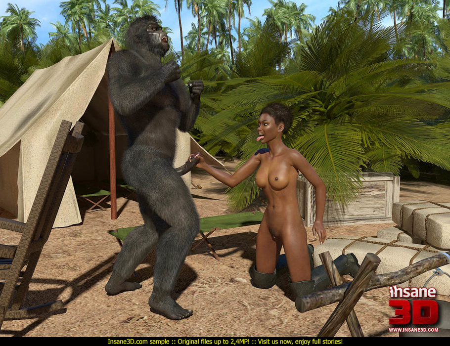 men fuck gorilla girl