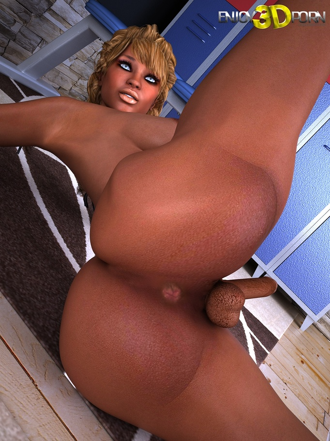 Tranny black big dick