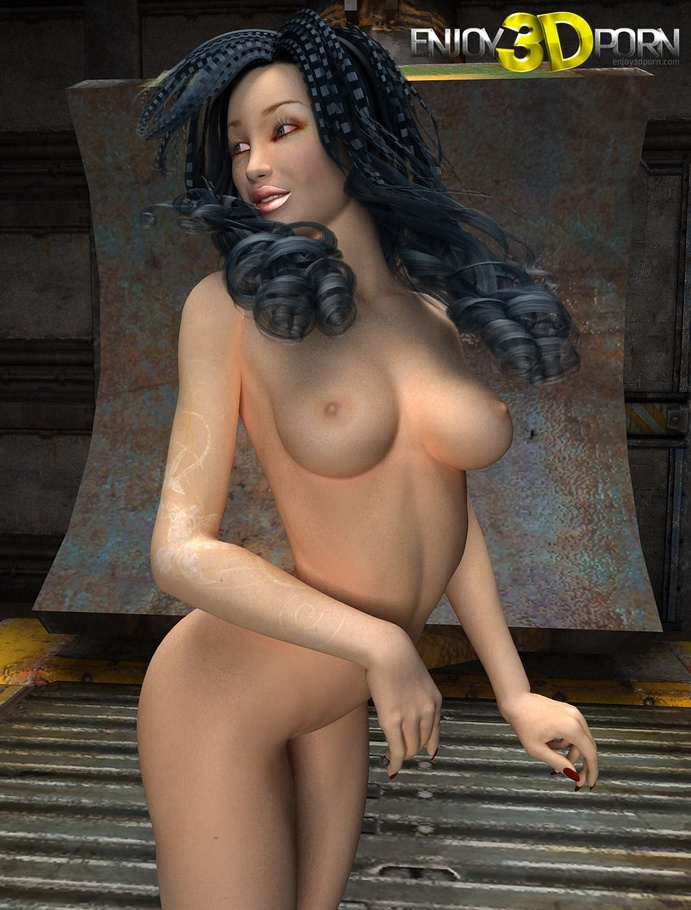 3d cartoon nude