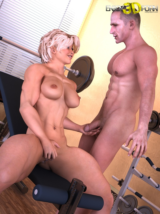 female body builder be fucked