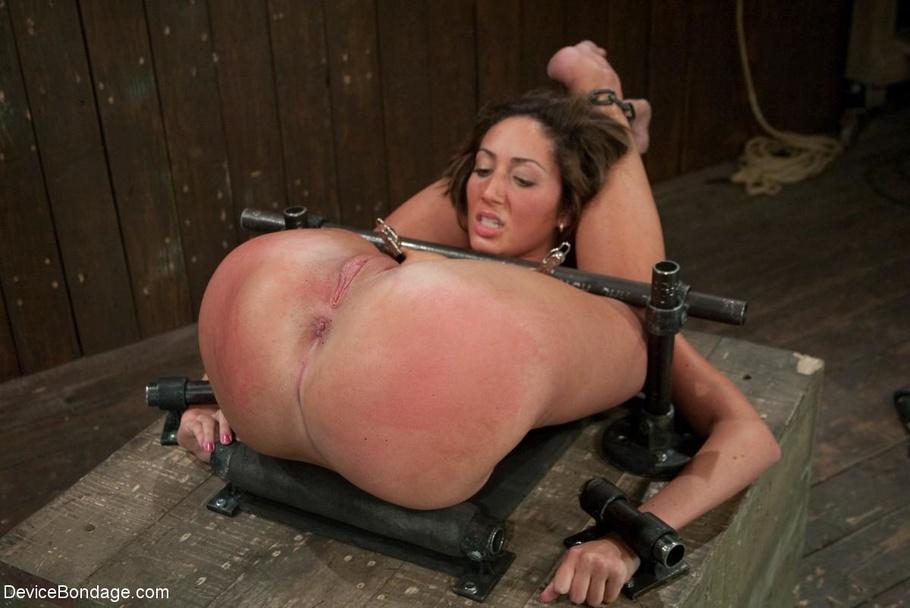 Self Bondage Nipple Torture