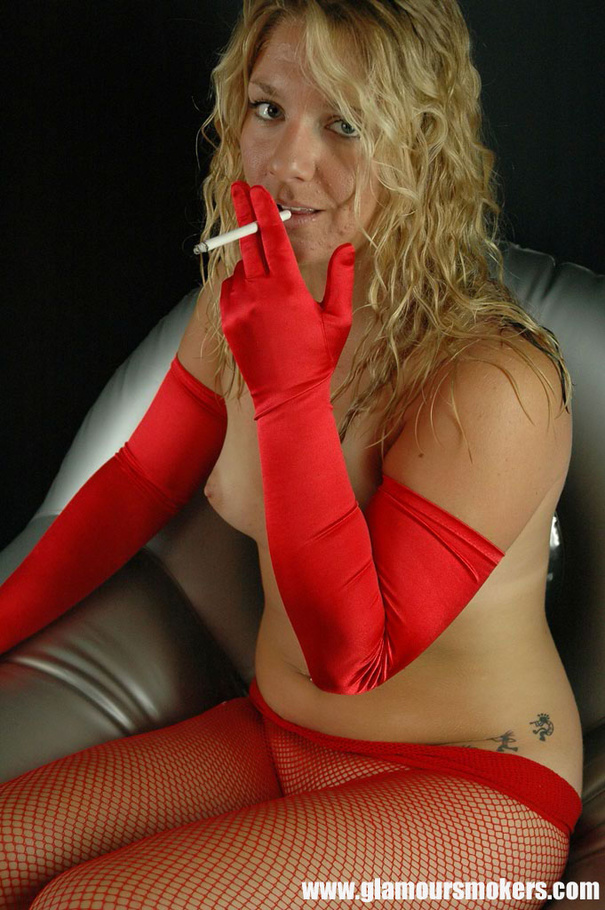 Close up smoking and toying my pussy 1