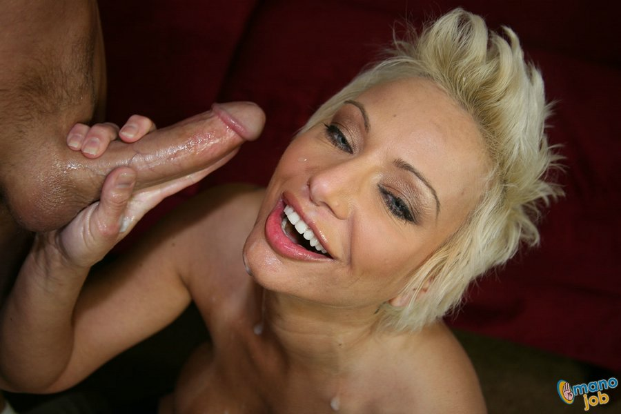 Gorgeous Short Haired Blonde With Huge Tits Milks A Fat Cock - Youxxxx-9419