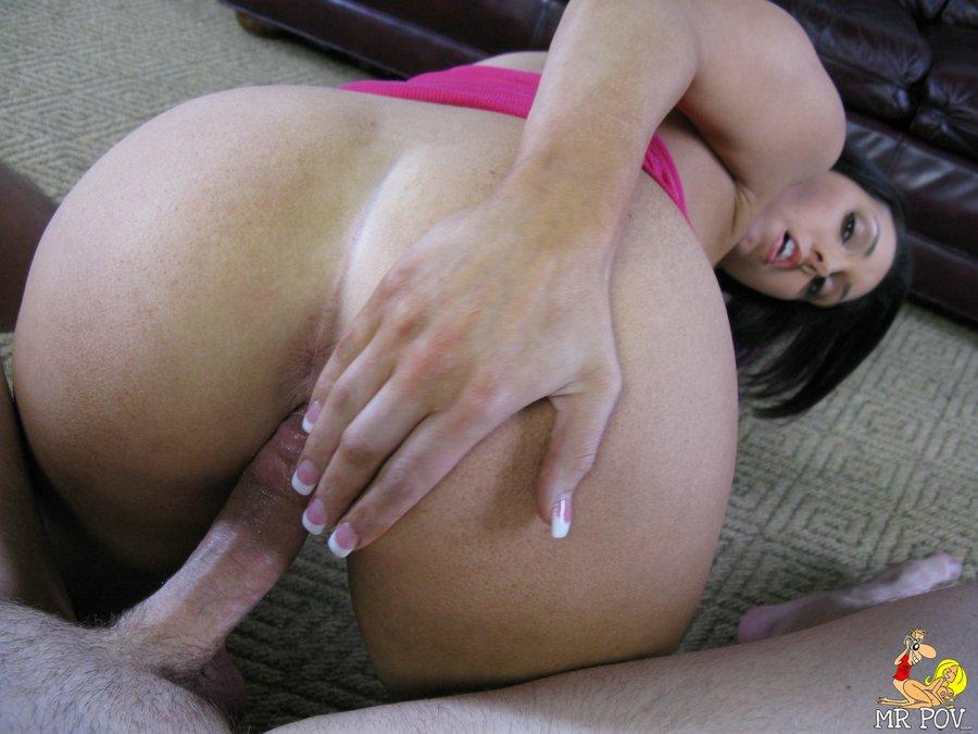 Big Tits pov corrida