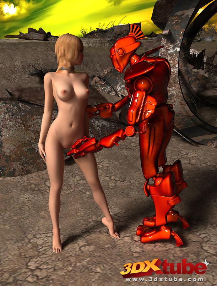 3 д порно с роботами