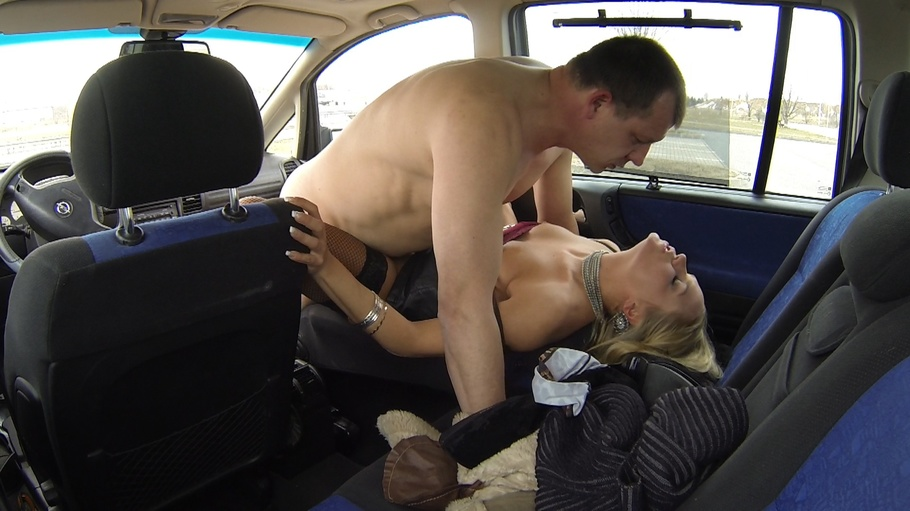 Bitch stop blonde czech milf picked up at the bus station