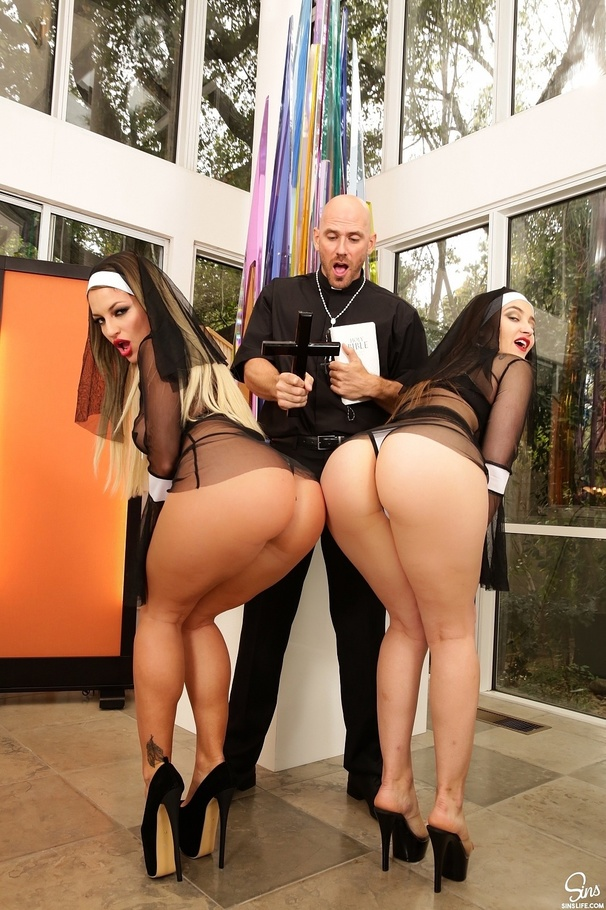 Johnny Sins Kissa Sins Squirt