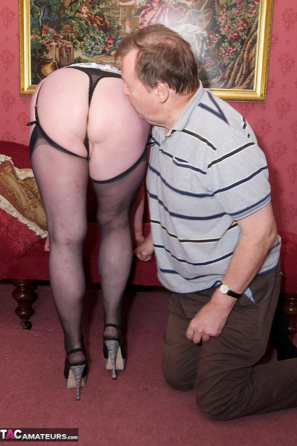 Mature hairy over 60 video