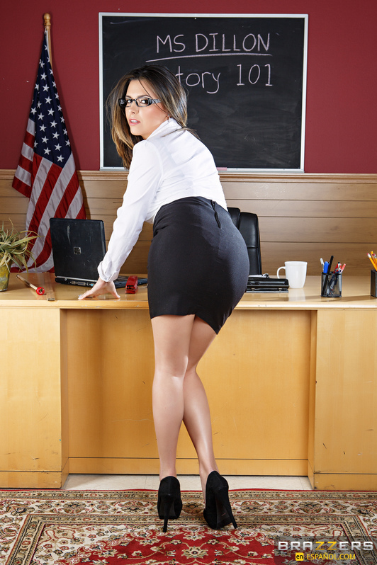 fucked in skirt by black