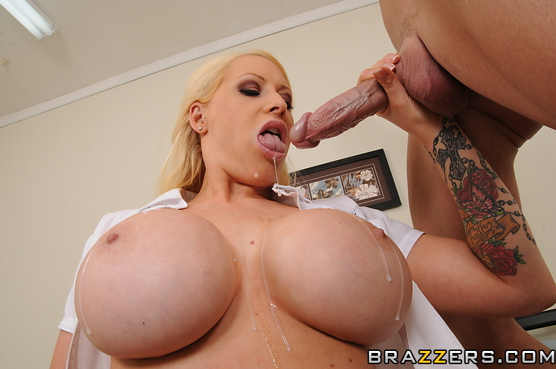 Big Tit Blonde Oil Fuck
