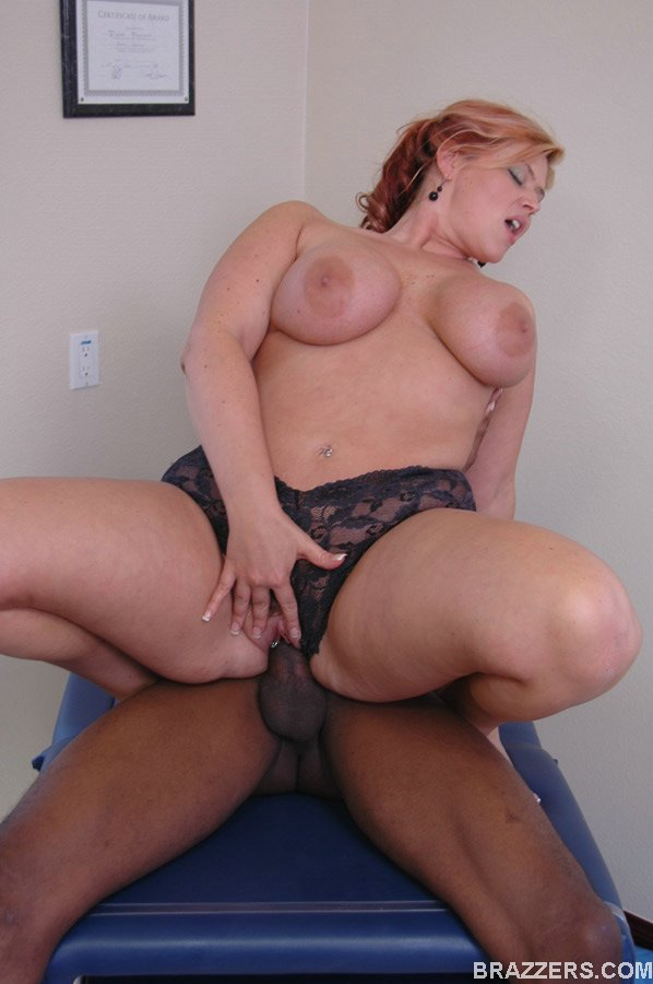 Big Booty Milf Interracial