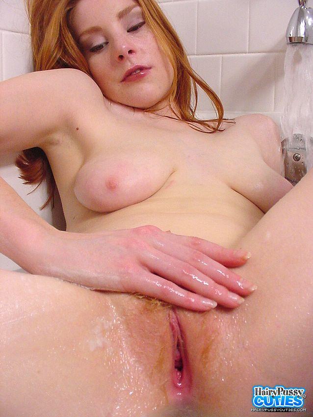 Redhead Hairy Pussy Porn