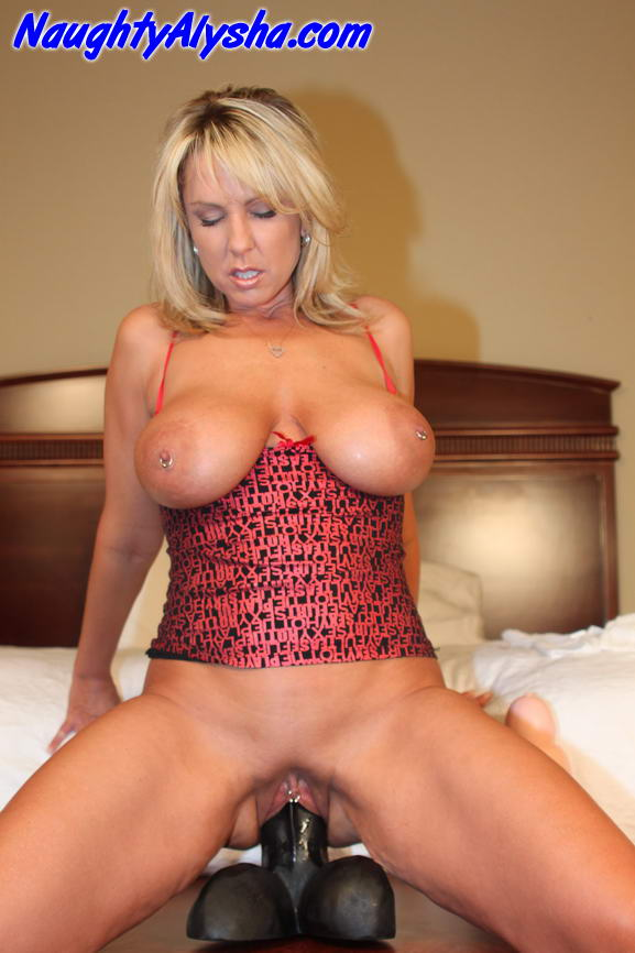 Toy blonde milf big your business! This
