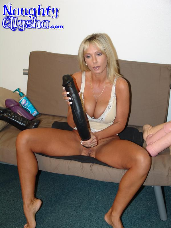 Naughty milf at work