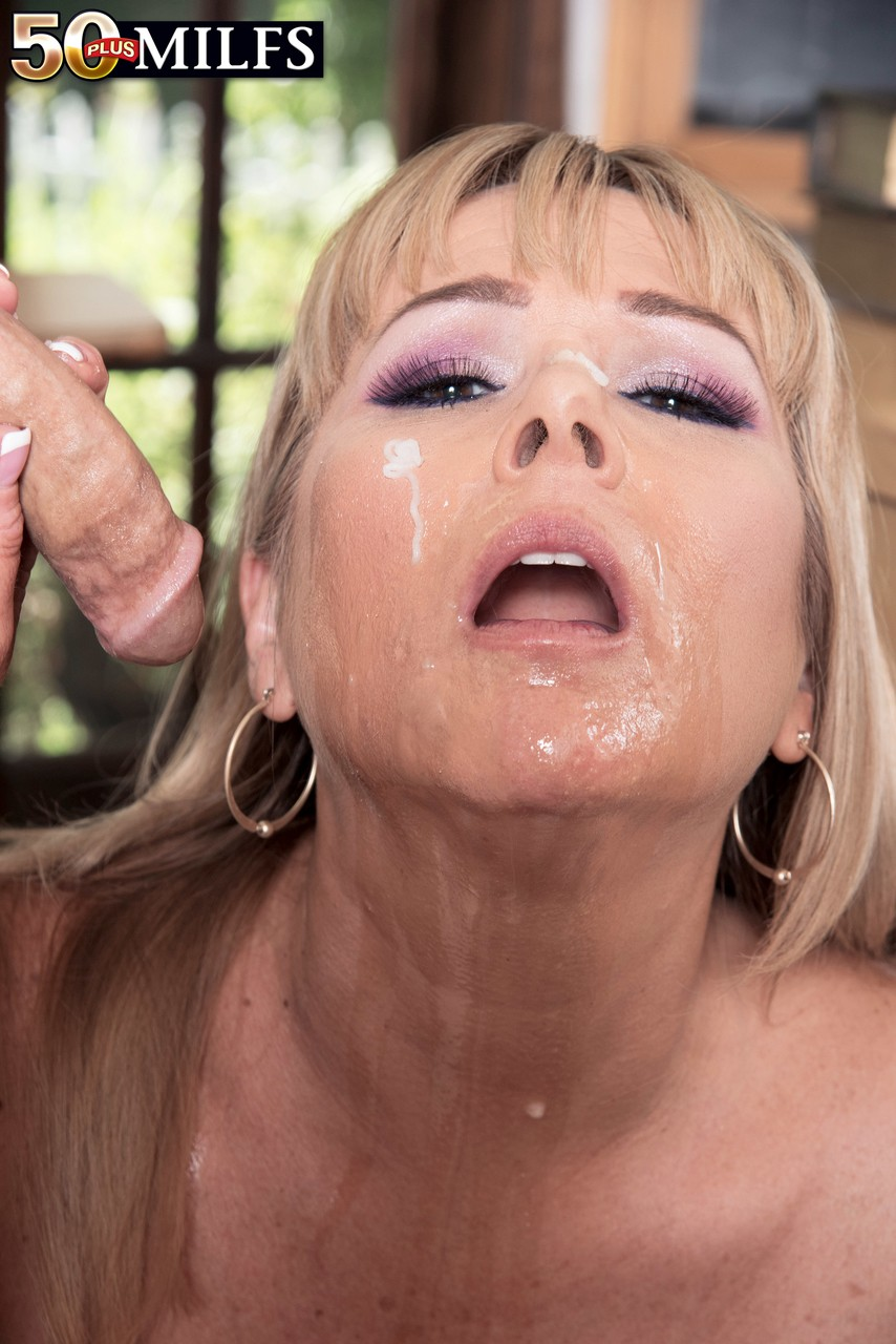 Sexy Blonde Teacher With Big Tits