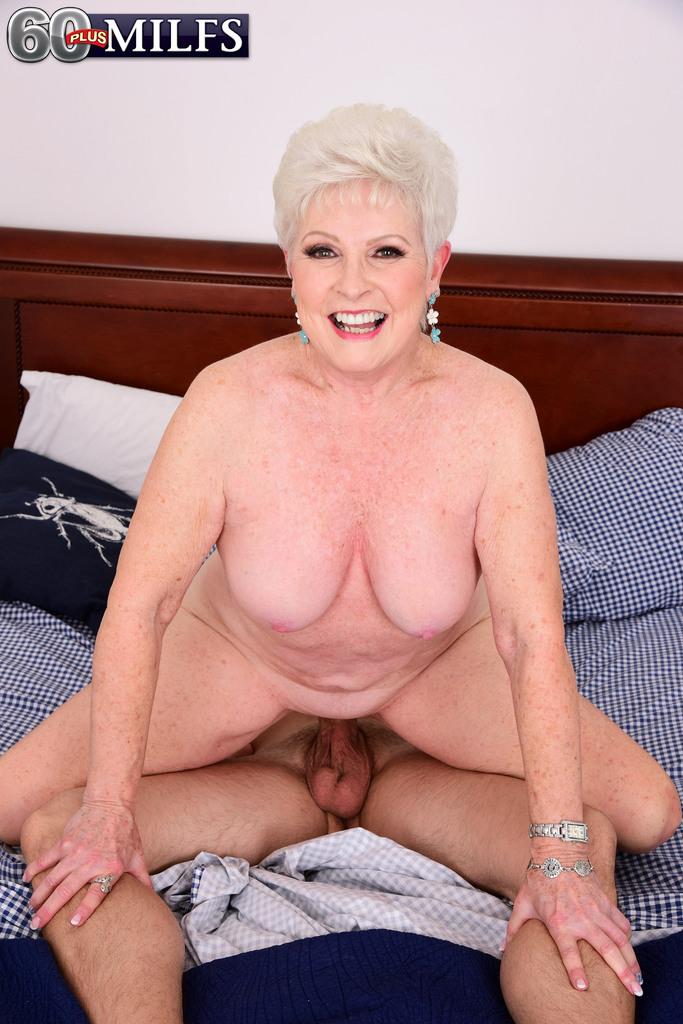 Chubby granny tits