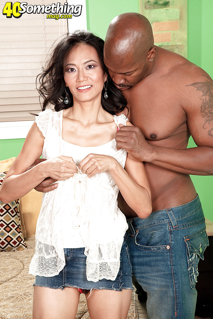 Mature Interracial Asian Black