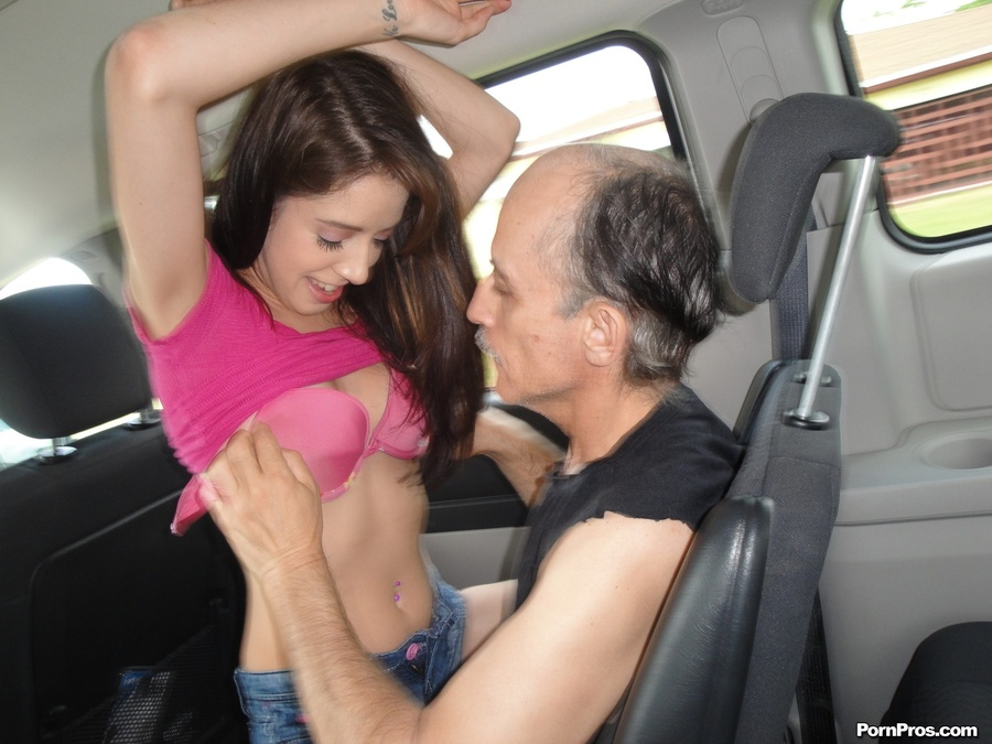 Teen Old Man Rough Blowjob