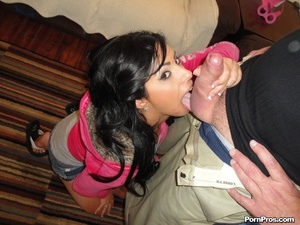 Dirty old man punishing a young brat wit - XXX Dessert - Picture 7