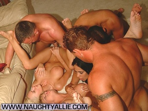 Real Amateur Couples Fucking In Big Orgy - XXX Dessert - Picture 7