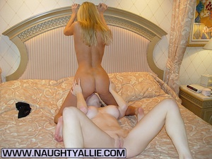 Hot Bisexual Wives Finger And Lick Pussy - XXX Dessert - Picture 4