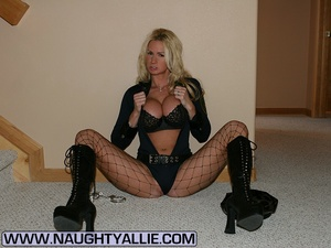 Busty Wife Dressed Up In Naughty Costume - XXX Dessert - Picture 10