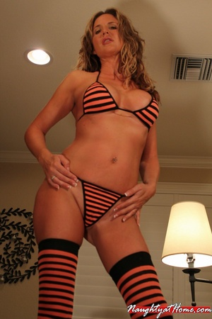 Hot Milf in Fetish Stockings Craving New - XXX Dessert - Picture 2