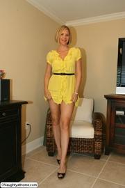 naughty wife yellow dress