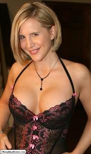 naughty wife black lingerie