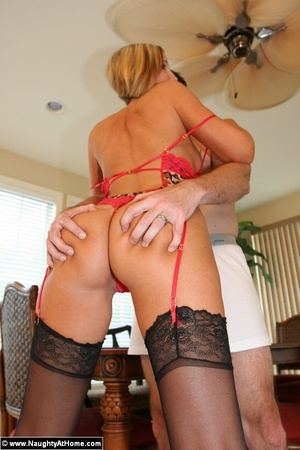 Hot Busty Milf Wife in Lingerie Getting  - XXX Dessert - Picture 10