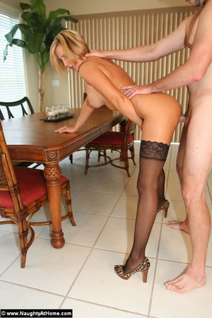 Hot Busty Milf Wife in Lingerie Getting  - XXX Dessert - Picture 13