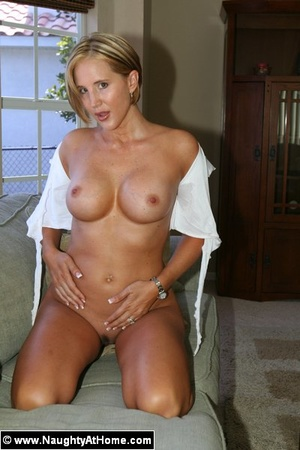 Busty Wife In Naughty School Girl Outfit - XXX Dessert - Picture 11