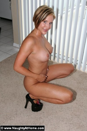 Busty Wife In Naughty School Girl Outfit - XXX Dessert - Picture 12