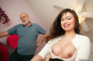 Young asian whore pleasuring a dirty old - XXX Dessert - Picture 1