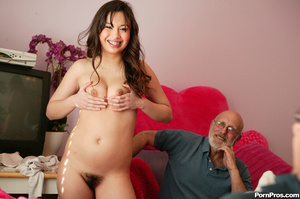 Young asian whore pleasuring a dirty old - XXX Dessert - Picture 4