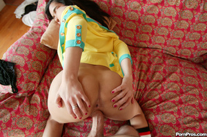 Sweet and stupid babe gets tricked to fu - XXX Dessert - Picture 14