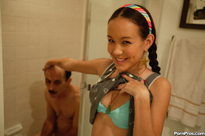Naughty teen girl getting boned by a dir - XXX Dessert - Picture 7